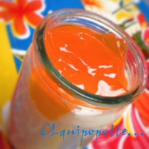 yaourt gelée pamplemousse -carotte