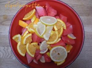 pasteque orange fleur d'oranger 1