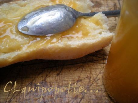 gelée de poires