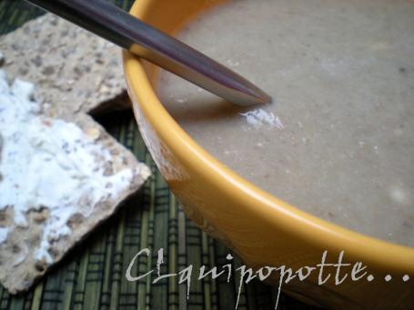soupe champignons