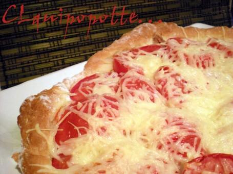 tarte moutarde thon tomate