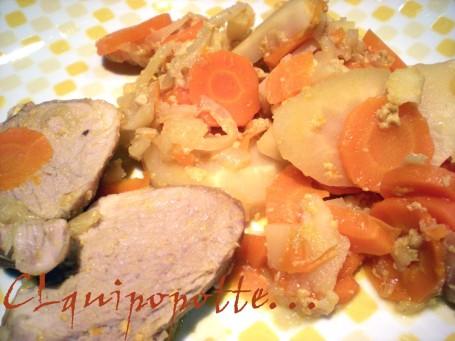 Mignon carotte lait